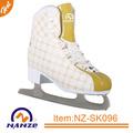 Soft adulte, glace, figure patins de hockey lame en acier inoxydable chaussures de skate