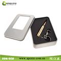 agradable de metal caja de embalaje para regalo de empresa de la forma de rock mini usb flash drive 16gb