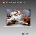 Caliente sexo de la mujer de imágenes bailarina de ballet clásico portrai-- t de aceite de la pintura