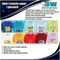 Papel de transferencia de la camiseta