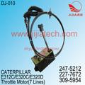 Del acelerador del motor de E320C excavadora,227-7672