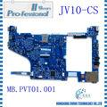 100% original del ordenador portátil de la placa base integrado jv10-cs