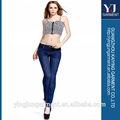 El último 2014 diseño skinny jeans dama, la moda de marca mujer pantalones vaqueros