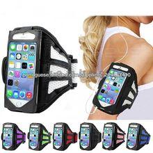Exercício Phone Holder Malha Caso Armband Esporte para iPhone 5 5C 5S