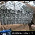 zinco revestido galvanizado para telhados de chapa metálica