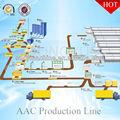 mistura e máquina de fundição para a produção de blocos aac