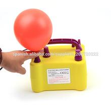 2013 nuevo inflable bomba de aire eléctrica globo pequeño personalizado