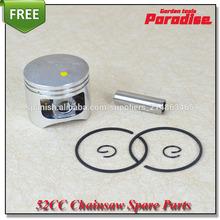 52cc58cc motosierra/sierra cadena de metal 45mm pistones