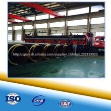 tubo de acero con poliuretano de preservación de calor y aislamiento enterrado diréctamente