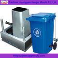 molde de plástico para cubo de basura con ruedas