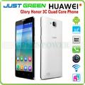 Honor 3C huawei precios de teléfonos móviles en china quad core 1,3 Ghz 5 pulgadas pantalla táctil teléfono móvil