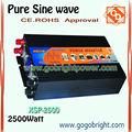 2500W de onda sinusoidal pura inversor como aire acondicionado XSP-2500