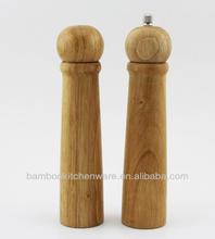 de bambú de sal agitador y molino de pimienta