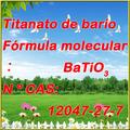 TITANATO del BARIO (BaTiO3)