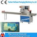 automatique horizontal machines bandage emballage flow pack