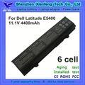 vendedor caliente bateria del ordenador portátil para dell latitude e5400 e5500 t749d