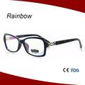 marcos hechos en china de plástico de moda gafas de lectura
