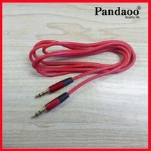 Estéreo teléfono móvil 3.5mm macho cable de audio