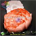 2014 flor de papel hecho a mano
