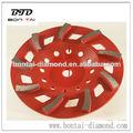 de metal 250mm bonos discos de diamante pulido para el hormigón