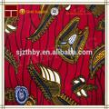 caliente la venta de algodón de impresión de cera tela de batik