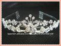 tramo de diamantes de imitación de novia diadema diadema