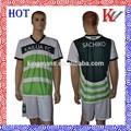 ropa de deporte de calidad de sublimación de camisetas de fútbol baratos uniformes