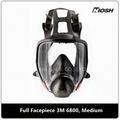 Respirador de pieza facial completa 3M 6800