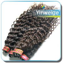 de alta calidad y baratos virgen de malasia rizado del pelo ondulado