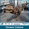JLDC-J-0022 carnaval decoração traje animatrônico dinossauro