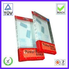caja del pvc, cuadro de envases de plástico para la caja del teléfono celular