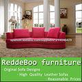 tela roja estilo marroquí sofá al por mayor de muebles en muebles de Shen Zhen proveedor