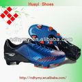 hombres calientes zapatos de fútbol marca