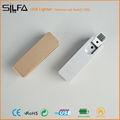 silfa encendedor recargable usb personalizados chino sexy chica desnuda de la foto
