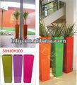 la planta de fibra de vidrio de la decoración olla