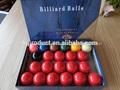 De alta calidad de bolas de billar conjunto/bola de billar