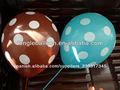 globo redondo para la decoración del partido