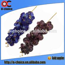 flor artificial yiwu fornecedor falso tecido de seda tecido flor artificial de orquídea atacado