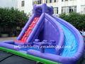 piscina de natación de diapositivas