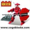 Cogo ladrillos pequeños ninja serie 90PCS juguetes plasticos