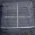 Chaud croupe treillis métallique soudé galvanisé/gabions/boîte.( usine)