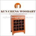 Muebles para el hogar de uso general y aspecto moderno gabinete de vino/de madera sólida del gabinete del vino