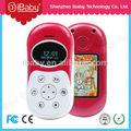 gps de seguimiento de los niños teléfono móvil con las llamadas de emergencia