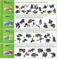 Mrt 3-2 madre educativos bloque de plástico kit de robot para los niños