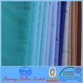 De perforación en crudo blanco forro de tejido de tela de la camisa 65:35 tc tela
