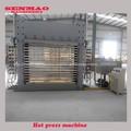 Machines presse à chaud/machine à bois