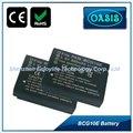 china digital de la batería de reemplazo bcg10 de panasonic