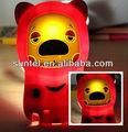 Graciosos animalitos 3D de Silicona Estuche para Samsung N7100