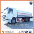 6*4 aceite de camión cisterna de combustible a la venta
