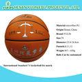 campo de baloncesto de equipo 7 tamaño estándar del partido de baloncesto para jugar a los estudiantes